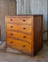 Antique Pine chest of drawers -SOLD